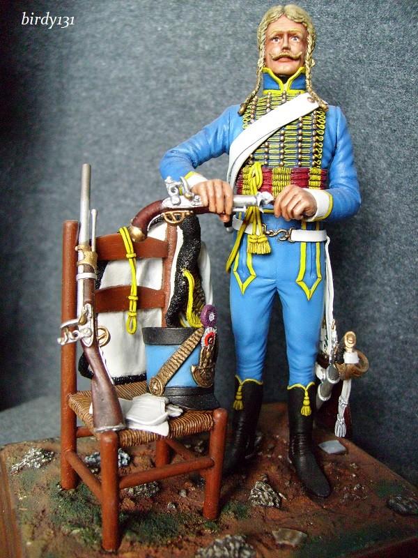 vitrine birdy131 (Ier empire 54 et 90 mm & 14/18 ) Officier de la Jeune Garde (MM) S7301814
