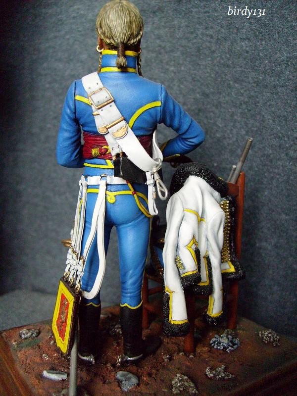 vitrine birdy131 (Ier empire 54 et 90 mm & 14/18 ) Officier de la Jeune Garde (MM) S7301815