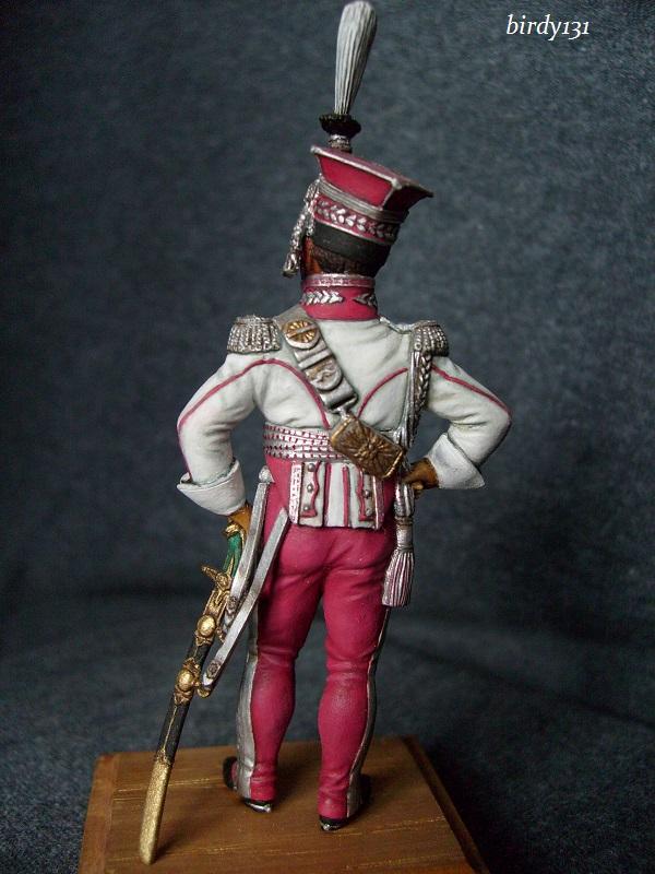 vitrine birdy131 (Ier empire 54 et 90 mm & 14/18 ) Officier de la Jeune Garde (MM) S7301824