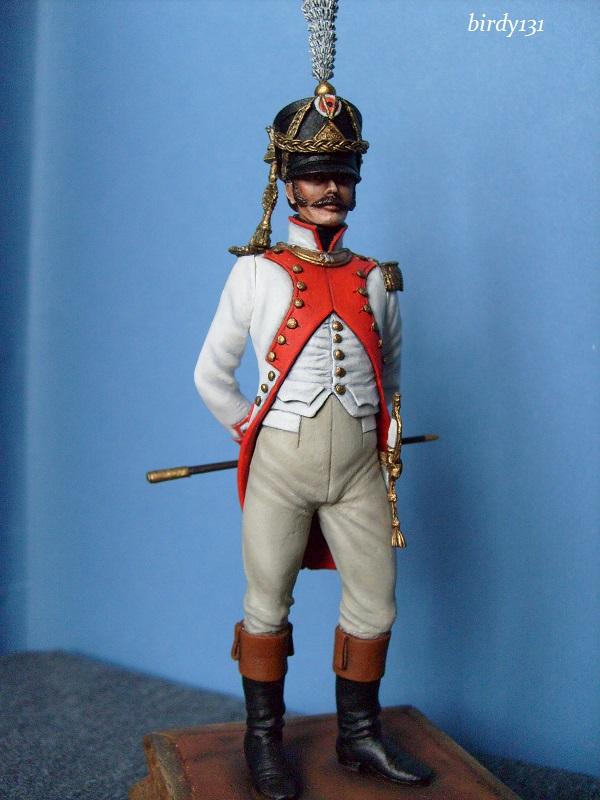 vitrine birdy131 (Ier empire 54 et 90 mm & 14/18 ) Officier de la Jeune Garde (MM) S7301910
