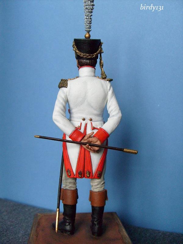 vitrine birdy131 (Ier empire 54 et 90 mm & 14/18 ) Officier de la Jeune Garde (MM) S7301911