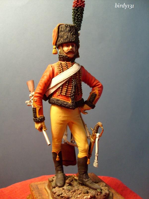 vitrine birdy131 (Ier empire 54 et 90 mm & 14/18 ) Officier de la Jeune Garde (MM) S7302218