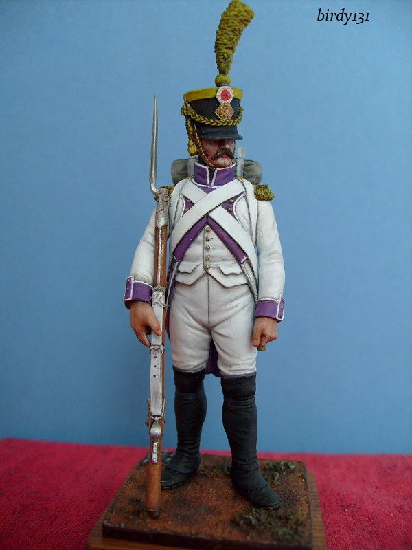 vitrine birdy131 (Ier empire 54 et 90 mm & 14/18 ) Officier de la Jeune Garde (MM) S7302316