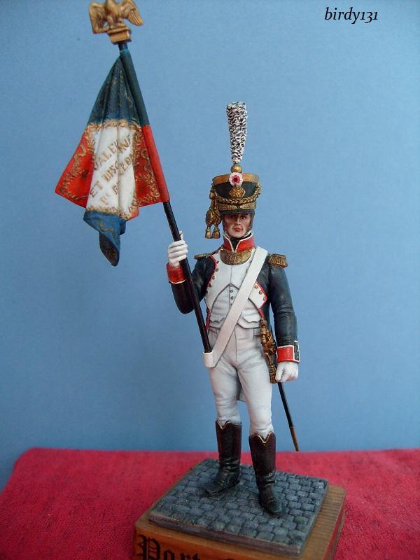 vitrine birdy131 (Ier empire 54 et 90 mm & 14/18 ) Officier de la Jeune Garde (MM) S7302320