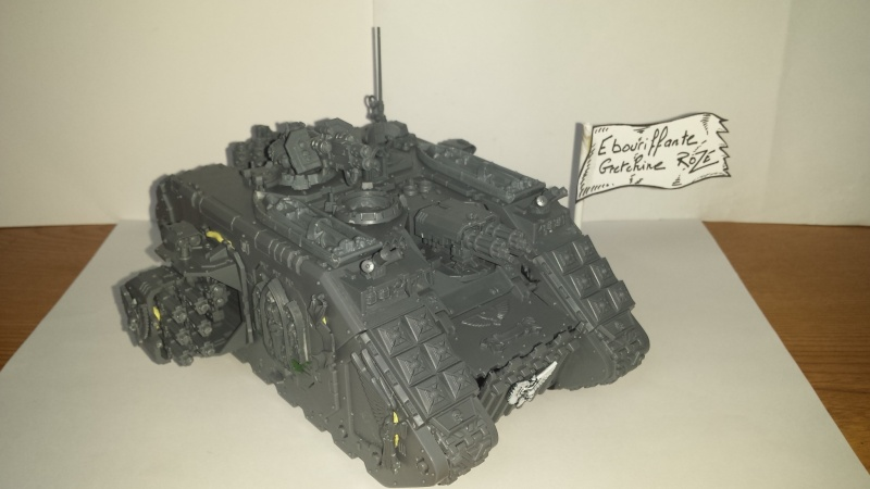 [wedge/ dark angels ] Land Raider Crusader DEATHWING  le Fortress of caliban 20141131