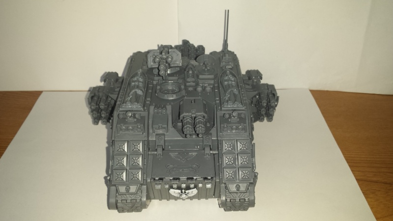 [wedge/ dark angels ] Land Raider Crusader DEATHWING  le Fortress of caliban 20141132