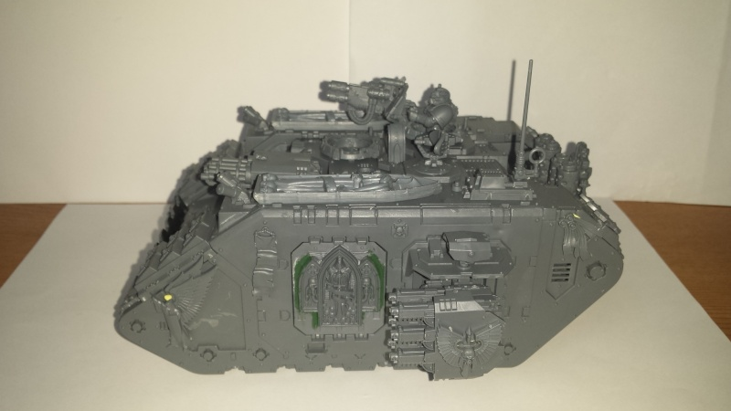 [wedge/ dark angels ] Land Raider Crusader DEATHWING  le Fortress of caliban 20141133