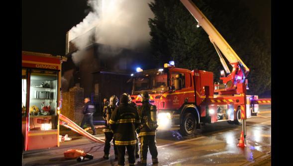 Villeneuve-d'Ascq : un incendie ravage la « maison hantée de hem » d'Hempempont 91335710