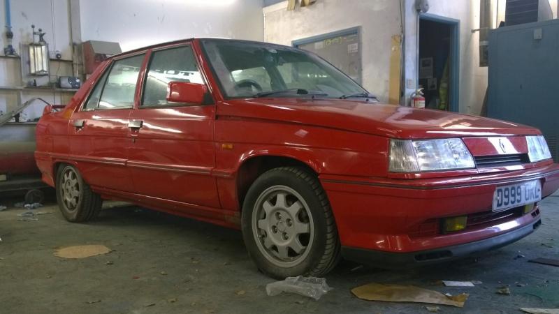 1987 Renault 9 Turbo phase 2 restoration Wp_20110