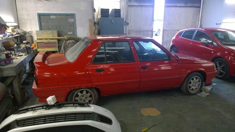 1987 Renault 9 Turbo phase 2 restoration Wp_20111