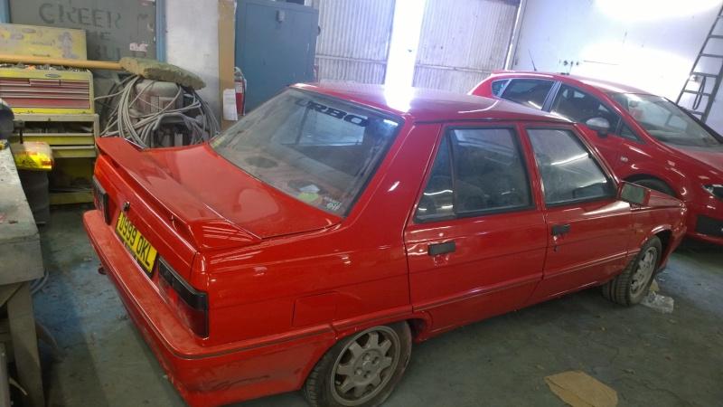 1987 Renault 9 Turbo phase 2 restoration Wp_20113