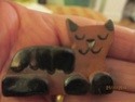 LR mark Help please Small Terracotta Cat with Black Glazed Details Img_5612