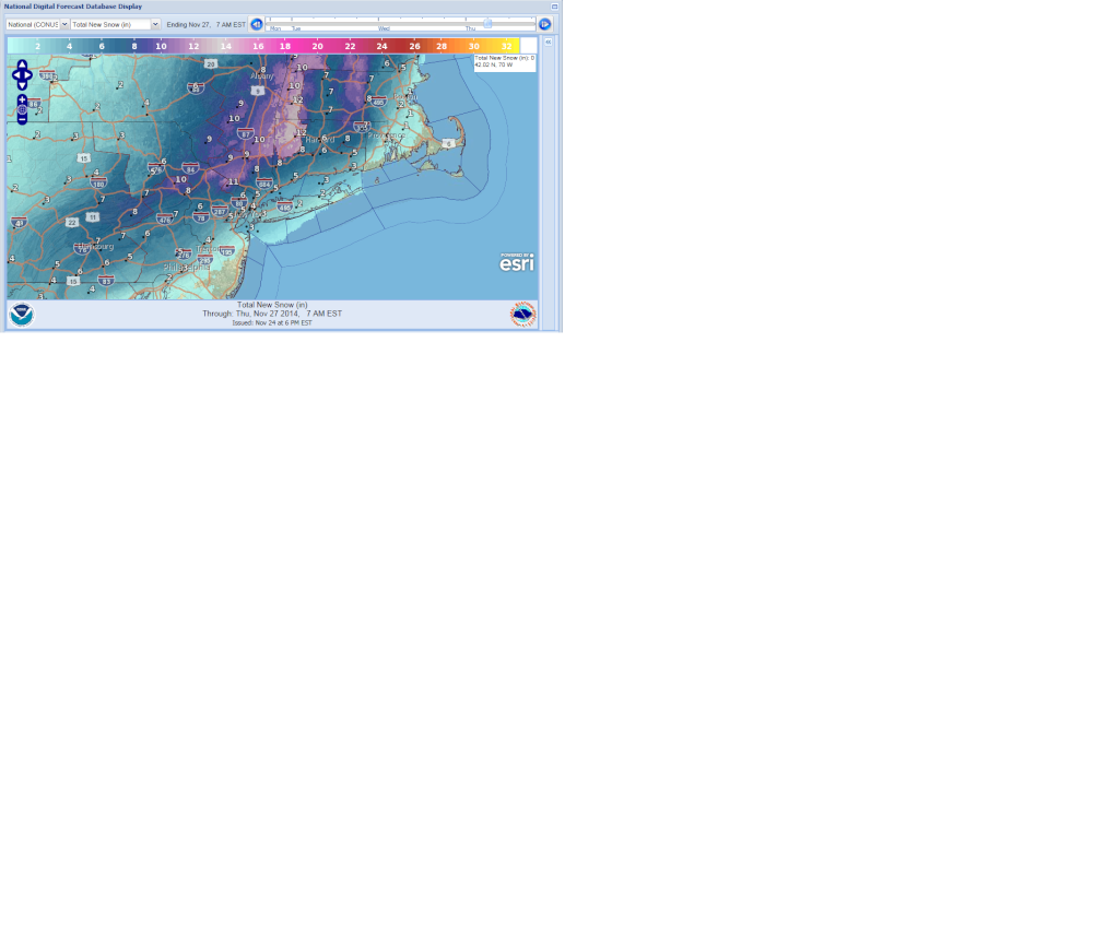 11/26 Coastal Storm Part 2: Forecast & Snow Map - Page 3 11-26-13