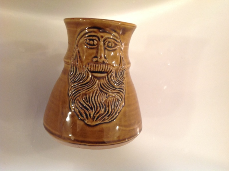 Tankard with a face. 2014-110