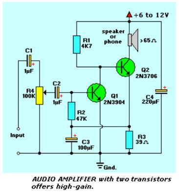 أنظمة مكبرات الصوت المرتكزة على الترانزستورات :  112