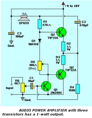أنظمة مكبرات الصوت المرتكزة على الترانزستورات :  213