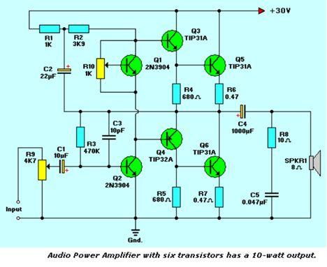 أنظمة مكبرات الصوت المرتكزة على الترانزستورات :  312