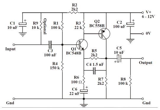 أنظمة مكبرات الصوت المرتكزة على الترانزستورات :  610