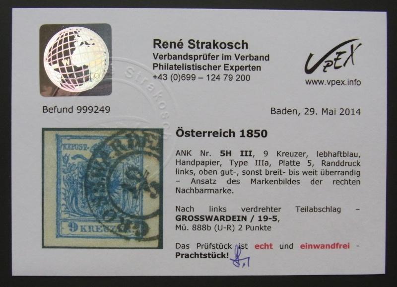 Die erste Österreichische Ausgabe 1850 - Seite 5 Rimg0012