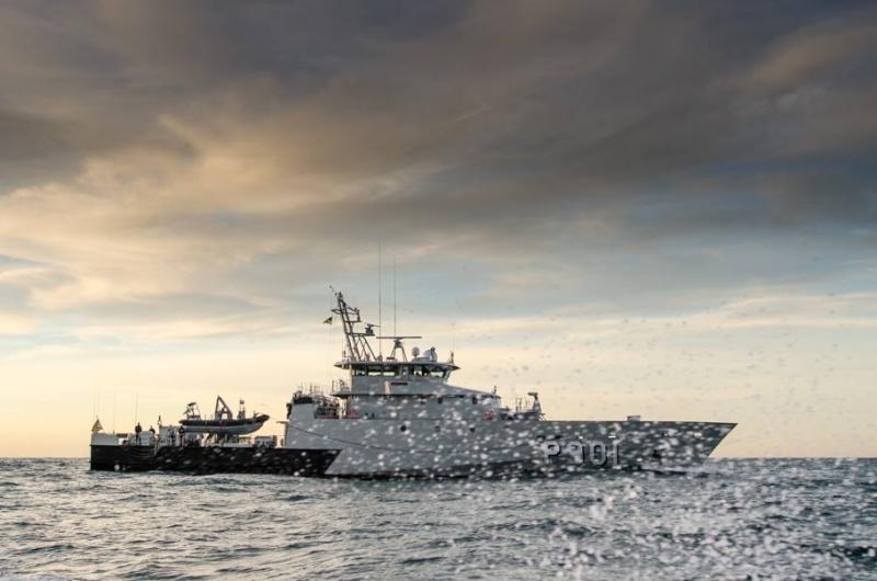 mission Garde-pêche du P 901 Castor Castor18