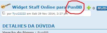 Widget Staff Online para PunBB Result12