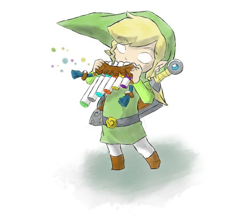 Les gribouillage d'abi Zelda-10