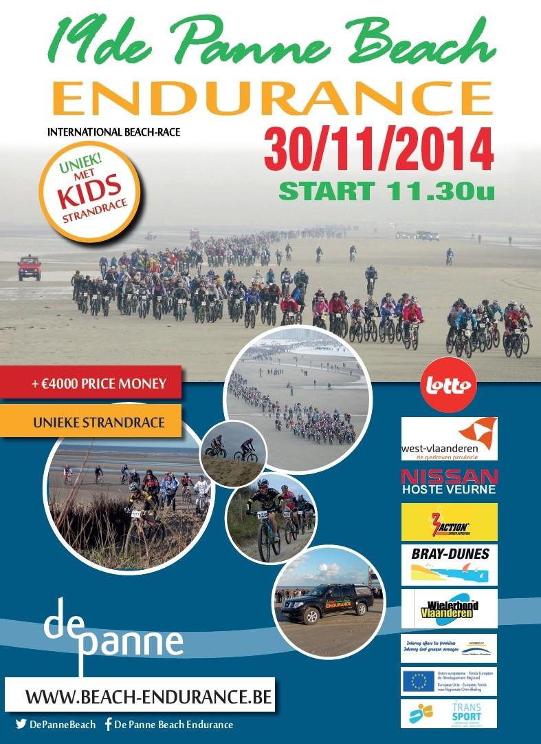 PANNE BEACH ENDURANCE 30/11/2014 Affich10