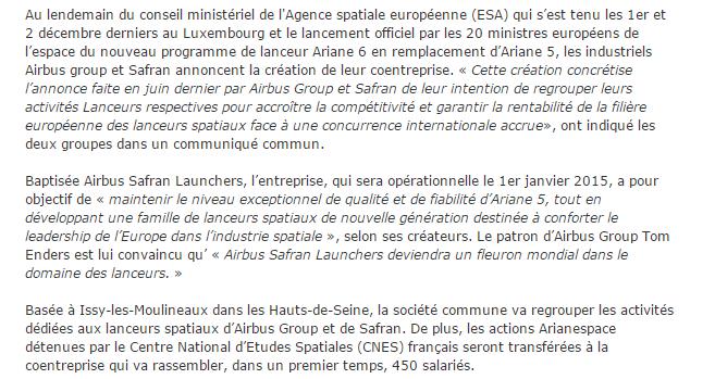 News Aéronautique 2014-136