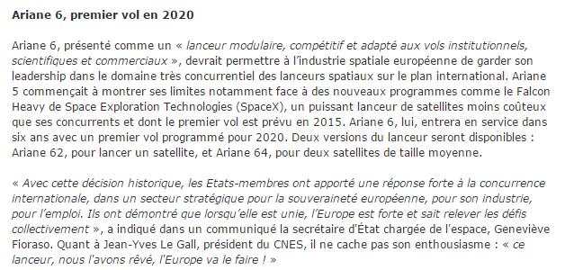 News Aéronautique 2014-137