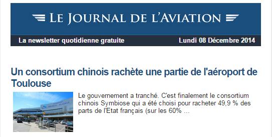 News Aéronautique 2014-142