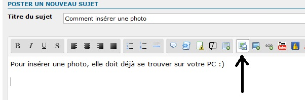 Comment insérer une photo Sans_t10