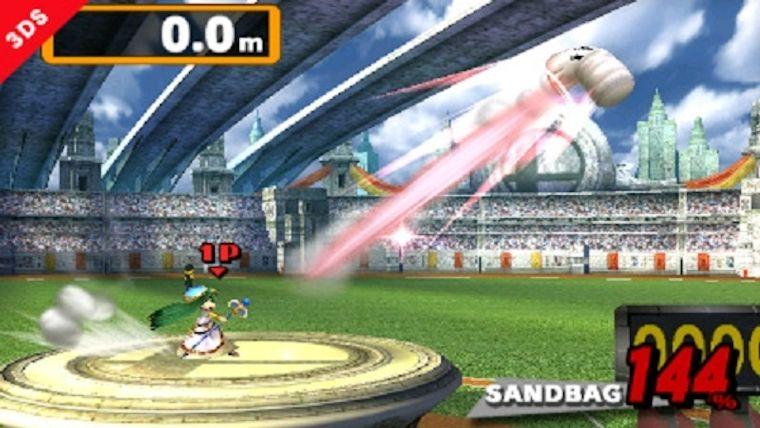 Super Smash Bros for Nintendo 3DS & Wii U Challenge: Home Run Contest High Score Super-10