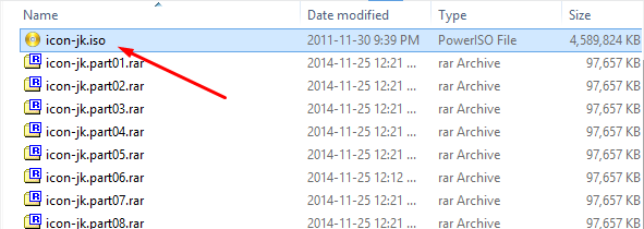 Extracting RAR Files With Multiple Parts Screen21