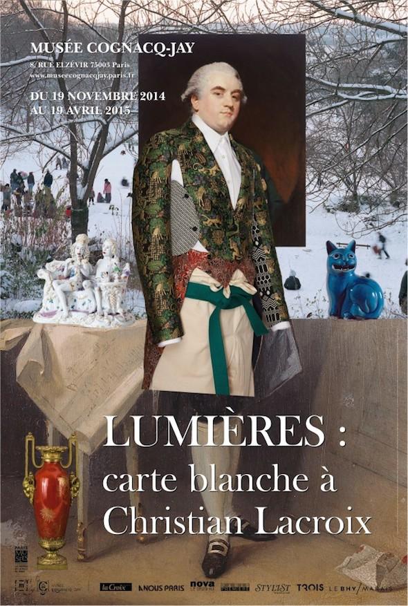 « Lumières : carte blanche à Christian Lacroix » au musée Cognacq-Jay Christ10