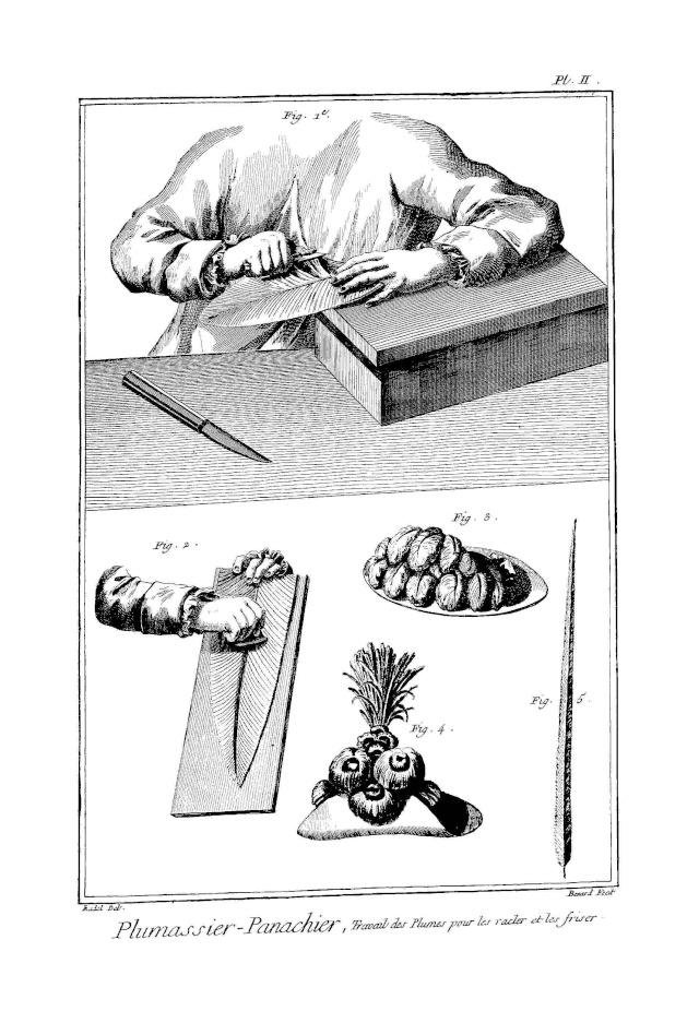 Les plumassiers, ces artisans indispensables aux modes du XVIIIème siècle Plumas11