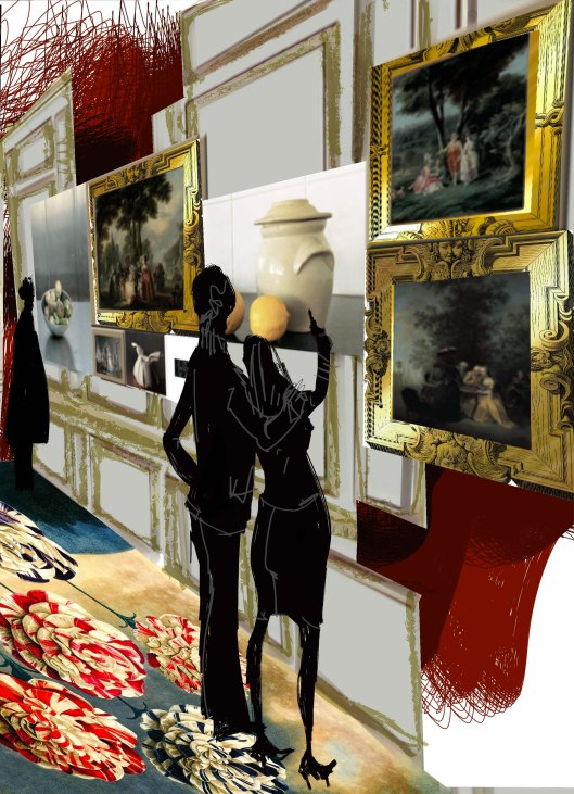 « Lumières : carte blanche à Christian Lacroix » au musée Cognacq-Jay Ztru210
