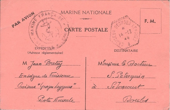 croiseur - GEORGES LEYGUES (CROISEUR) Gorges10