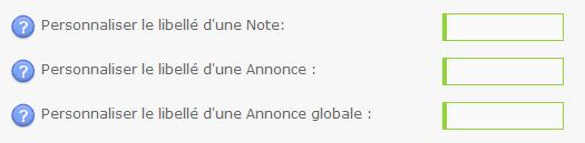 """Information: Changement du libellé """"Post-it"""" en """"Note"""" 20-11-16"""