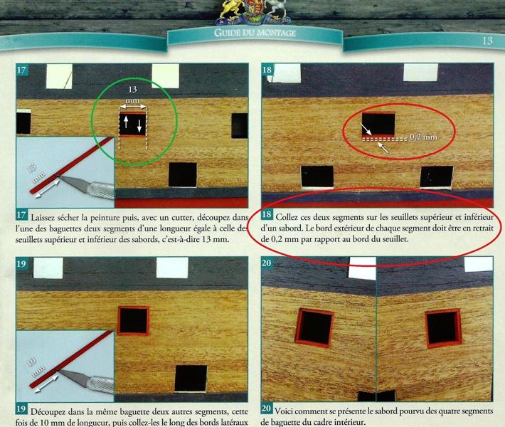 Construction du Sovereign of the Seas au 1/84 (partie 1) - Page 10 Entour11