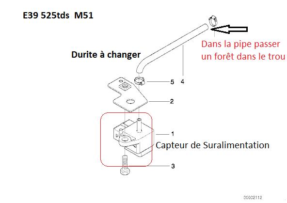 [ bmw e39 525 tds M51 an 1996 ] probleme trou a l'accélération en passant la deuxième 13_cap10