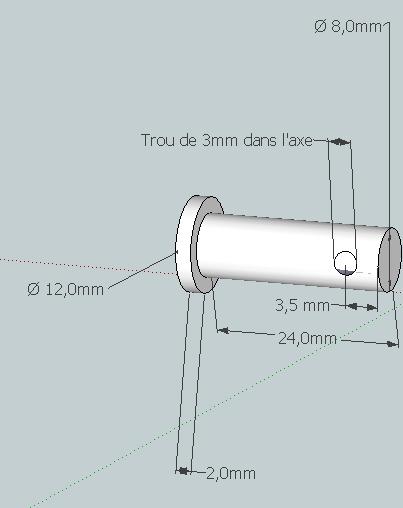 clip levier de vitesse Axe_de11