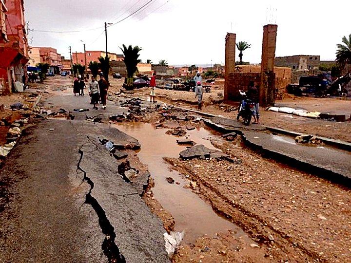 علي إثر الفيضانات الهدامة والقوية التي ضربت أجزاء كبيرة من بلدنا و خلفت ضحايا في الأرواح والممتلكات شبكة سوس تتقدم إليكم بتعازيها  1b10