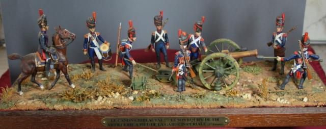L' artillerie à pied de la Garde impériale en action. Img_5620