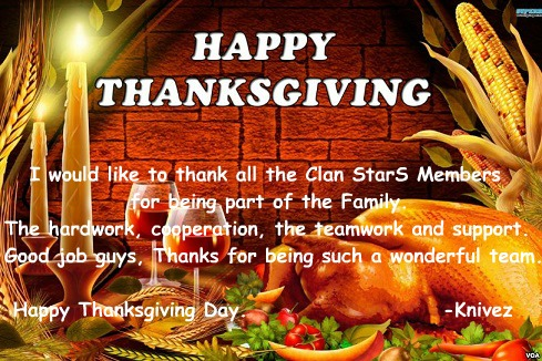 Happy Thanksgiving! Thanks10