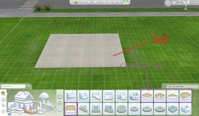 [Débutant] Régler la hauteur des étages d'une maison, des piscines et des fondations Sans_t12