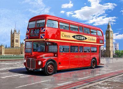 AEC Routemaster London double decker bus 1/24 Revell terminus tout le monde descend! Cover_11