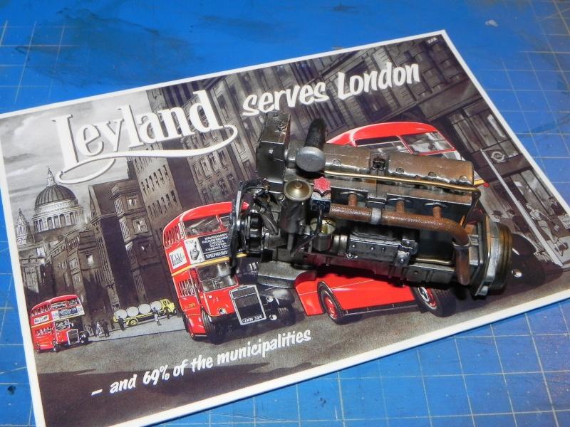 AEC Routemaster London double decker bus 1/24 Revell terminus tout le monde descend! Dscn7310