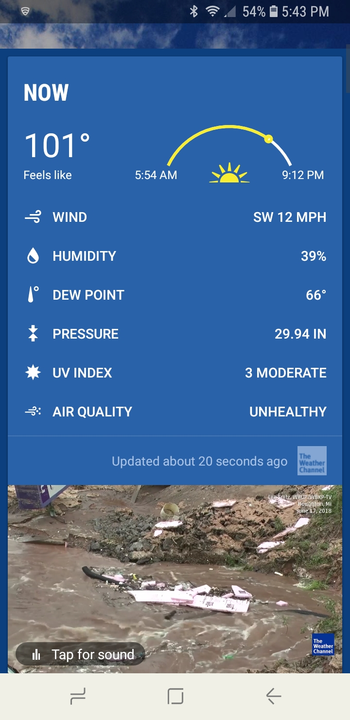 Post your current weather status Screen10