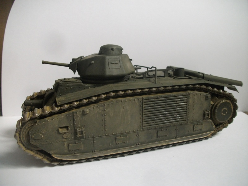 B1 bis Tamiya 1/35 13eme dragon Dscf0020