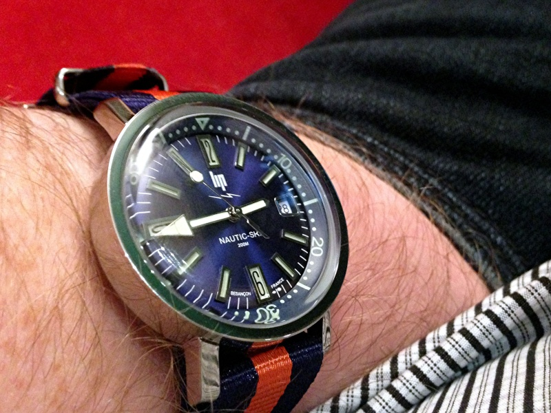 La montre du Vendredi 28 novembre Nautic10